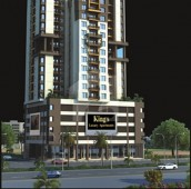 4 Bed 11 Marla Flat For Sale in Kings Luxury Apartments, Shaheed Millat Road