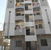 2 Bed 3 Marla Flat For Sale in North Nazimabad, Karachi