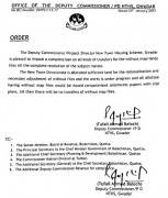 DCO IMPOSED BAN ON TRANSFER OF NEW TOWN GWADAR