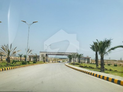 The Plot Of 5 Marla Is Available For Sale In Regi Model Town Peshawar