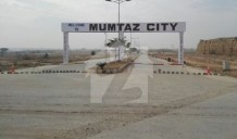 Mumtaz City Plot 30x60 For Sale At Double Road Chenab Block