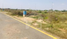 Corner Plot Back Of Main For Sale In Phase 8 Dha