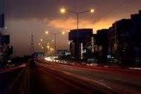 Beautiful night view of Cavalry Ground Commercial Market