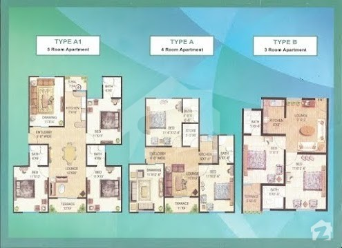 Floorplans of saima arabian villas karachi for Saima arabian villas 160