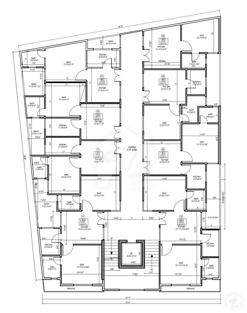 Floorplans Of Daisy Height E 11 Islamabad