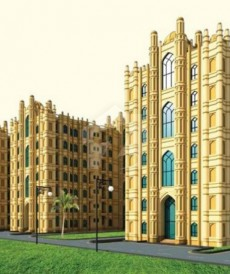 Studio 310 Sq. Ft. Flat For Sale in Sheranwala Heights, Lahore