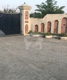 6 Bed 64 Kanal Farm House For Sale in Barki Road, Cantt