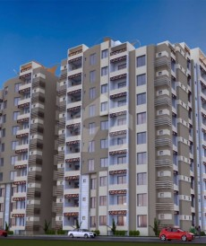 1 Bed 713 Sq. Ft. Flat For Sale in Silk Executive Apartments, University Road