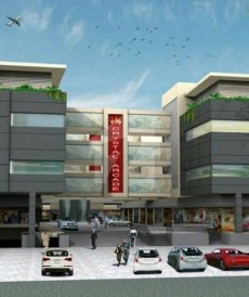 250 Sq. Ft. Flat For Sale in Crystal Arcade, LMQ Road