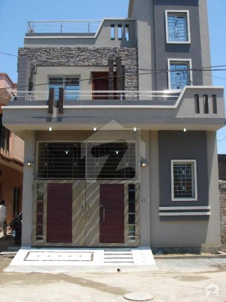 5 marla corner brand new double unit luxury house punjab for Home design 5 marla corner