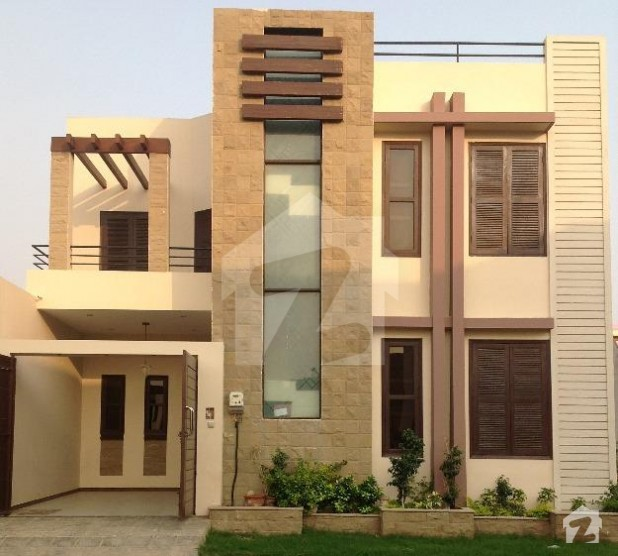 Front Elevation 120 Yards : Square yard bungalow for sale dha phase extension