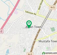 4 Bed 5 Marla House For Sale in Awan Town - Madina Block, Awan Town
