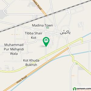 Plots For Sale In Pakpattan Bypass Zameencom - Pakpattan map