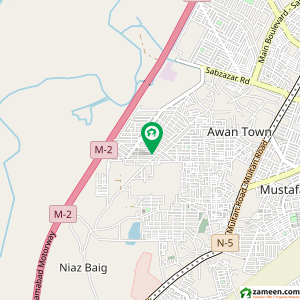 7 Bed 1.1 Kanal House For Sale in Marghzar Officers Colony - Block H, Marghzar Officers Colony