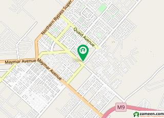 المنظر ٹاؤن کراچی میں 8 مرلہ رہائشی پلاٹ 78 لاکھ میں برائے فروخت۔