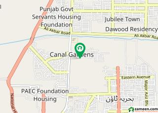 Required 1 Kanal Plot In Block B Canal Garden