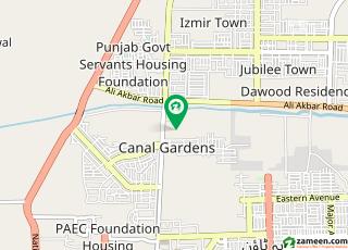 کینال ویلی مین کینال بینک روڈ لاہور میں 5 مرلہ رہائشی پلاٹ 45 لاکھ میں برائے فروخت۔