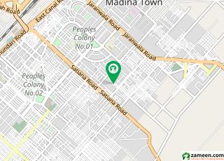 شادمان کالونی فیصل آباد میں 1.25 کنال مکان 3.75 کروڑ میں برائے فروخت۔