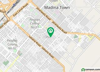 شادمان کالونی فیصل آباد میں 7 کمروں کا 1.2 کنال مکان 3.95 کروڑ میں برائے فروخت۔