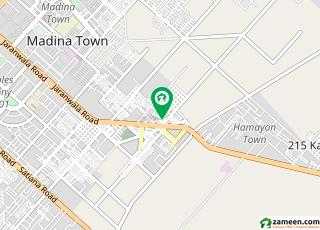 کہکشاں کالونی نمبر 2 فیصل آباد میں 5 مرلہ مکان 42 لاکھ میں برائے فروخت۔