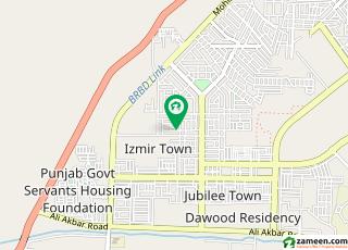 ازمیر ٹاؤن ۔ بلاک ڈی ازمیر ٹاؤن لاہور میں 1 کنال رہائشی پلاٹ 1.8 کروڑ میں برائے فروخت۔
