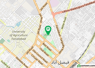 سوِل لائنز فیصل آباد میں 4 کنال مکان 16 کروڑ میں برائے فروخت۔
