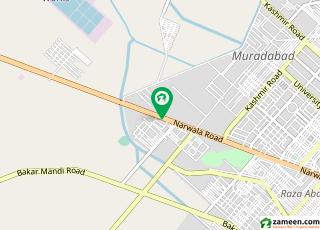 نروالہ روڈ فیصل آباد میں 6 کمروں کا 9 کنال فارم ہاؤس 5.4 کروڑ میں برائے فروخت۔