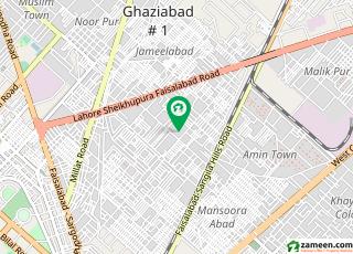 احمد آباد فیصل آباد میں 3 مرلہ مکان 50 لاکھ میں برائے فروخت۔