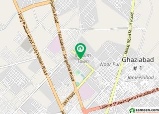 مسلم ٹاؤن فیصل آباد میں 6 کمروں کا 1 کنال مکان 3 کروڑ میں برائے فروخت۔