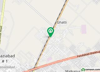 جھمرہ روڈ فیصل آباد میں 1.4 کنال مکان 2.85 کروڑ میں برائے فروخت۔