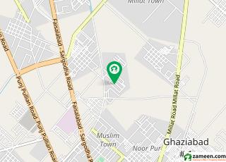خیابانِ گارڈنز فیصل آباد میں 6 کمروں کا 1.1 کنال مکان 4.5 کروڑ میں برائے فروخت۔