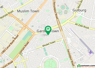 گارڈن ٹاؤن - بابر بلاک گارڈن ٹاؤن لاہور میں 2 کنال رہائشی پلاٹ 8 کروڑ میں برائے فروخت۔
