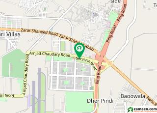 امجد چودھری روڈ کینٹ لاہور میں 5 کمروں کا 1 کنال مکان 3.9 کروڑ میں برائے فروخت۔