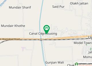 کینال سٹی ہاؤسنگ سوسائٹی وزیر آباد روڈ سیالکوٹ میں 5 کمروں کا 6 مرلہ مکان 1.1 کروڑ میں برائے فروخت۔