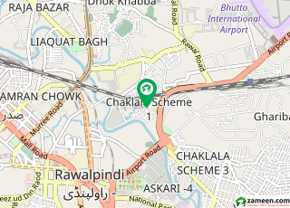 chaklala scheme 3 3bed ground portion for rent