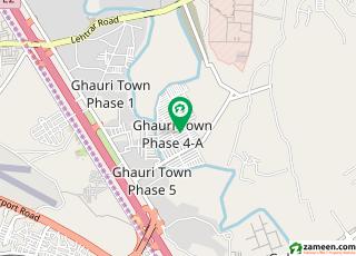غوری ٹاؤن فیز 4 غوری ٹاؤن اسلام آباد میں 10 مرلہ رہائشی پلاٹ 98 لاکھ میں برائے فروخت۔