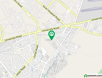 گلستانِِ جوہر ۔ بلاک 6 گلستانِ جوہر کراچی میں 1.03 کنال رہائشی پلاٹ 3 کروڑ میں برائے فروخت۔