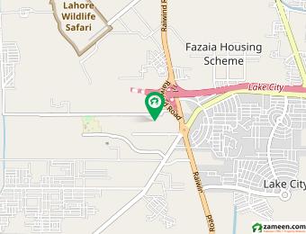 چنار کورٹ لاہور میں 4 کنال رہائشی پلاٹ 3 کروڑ میں برائے فروخت۔