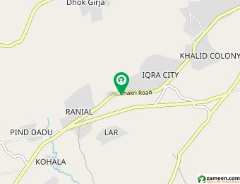 چکری روڈ راولپنڈی میں 2.15 کنال کمرشل پلاٹ 11 کروڑ میں برائے فروخت۔