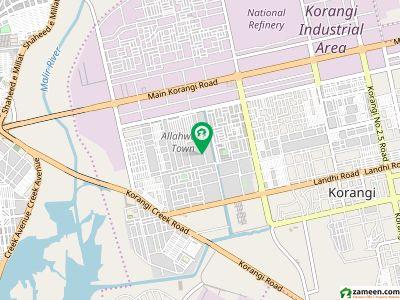 120 Square Yards Residential Plot In Korangi For Sale