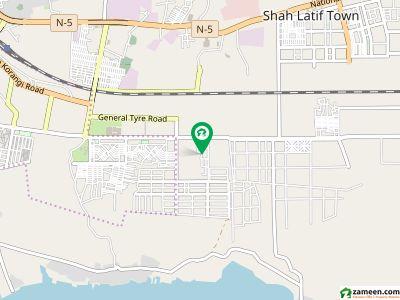 لیبر اسکوائر بِن قاسم ٹاؤن کراچی میں 2 کمروں کا 3 مرلہ فلیٹ 23 لاکھ میں برائے فروخت۔