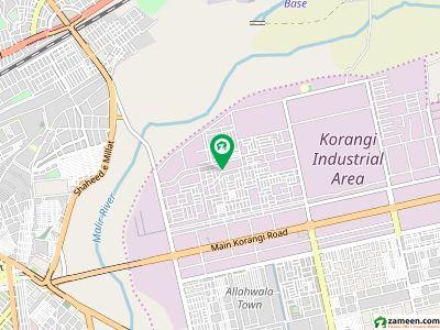 120 Sq Yard West Open KDA Leased House For Sale Main Korangi No 6 Market