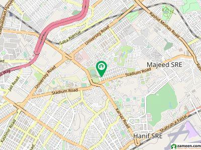 نیشنل سٹیڈیم کالونی گلشنِ اقبال ٹاؤن کراچی میں 1.2 کنال مکان 25 کروڑ میں برائے فروخت۔