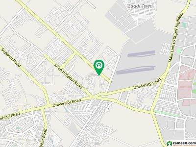 1200 yards comercial plot by birth main 150ft road kesc backside schme 33