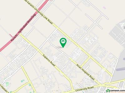 سچل سرمست سوسائٹی سکیم 33 کراچی میں 8 مرلہ کمرشل پلاٹ 1.25 کروڑ میں برائے فروخت۔