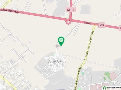 Saadi Town Block 7 Extension 120 Sq Yd