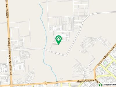 Centrally Located Residential Plot In Hassan Goth Is Available For Sale