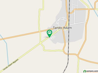 ٹنڈو آدم بائی پاس ٹنڈو آدم میں 1 مرلہ رہائشی پلاٹ 25 لاکھ میں برائے فروخت۔