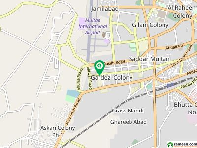 6 Kanal Kothi On Mall Road Multan Cantt Red  63