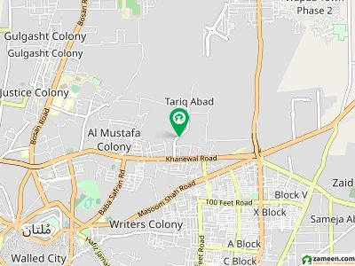 52 Mara House For Sale At Mehmood Abad  Colony Multan